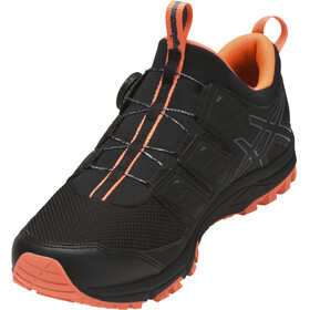 asics Gel-Fujirado Shoes Men black/carbon/hot orange